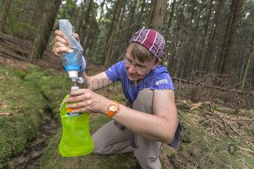 Trinkwasser dank Wasserfilter