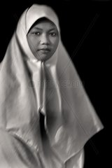 Indonesia  Java Woman's portrait