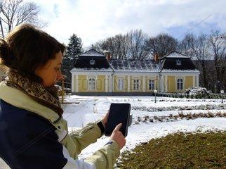 Geocaching im Schlosspark Pronay Ungarn