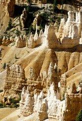 USA  Utah  Bryce Canyon National Park  rock formations called Hoodoos