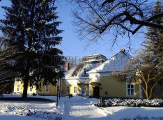 Auffahrt zum Schloss Hotel Pronay Ungarn