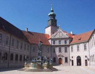 Muenchen Residenz Brunnenhof