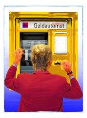 Geldautomat Funktion Kaputt Mann Wuetend 2