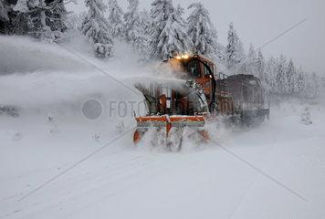 Schienen Schneefraese