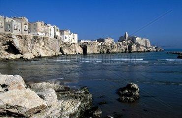 Apulia  Vieste Beach of Ripa