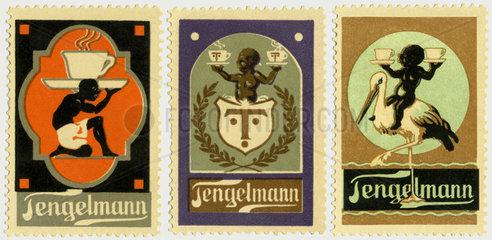 Tengelmann  Reklamemarken  1913