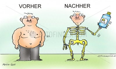 abnehmen dick fettsucht abmagern essen wenig vorher nacher medikamente