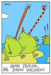 Zungenprothese