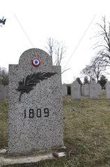 Gedenkstaette fuer die Toten auf dem Marchfeld am Wiener Zentralfriedhof