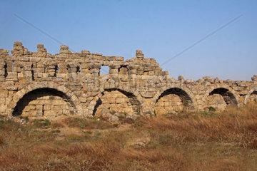 Ruinen in Side Tuerkei