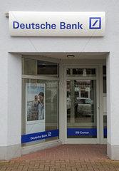 Warnemuende  Filiale der Deutschen Bank