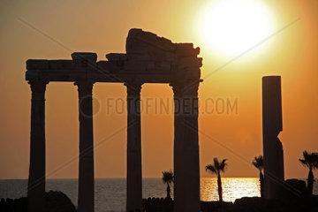 Apollo Tempel in Side Tuerkei