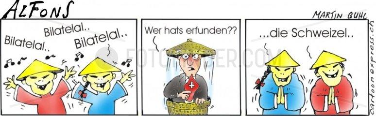Bilateral China Schweiz