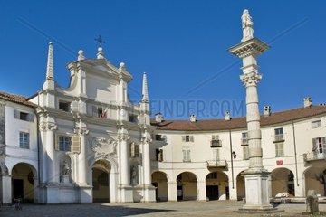 Italy  Piedmont  Venaria Reale  church
