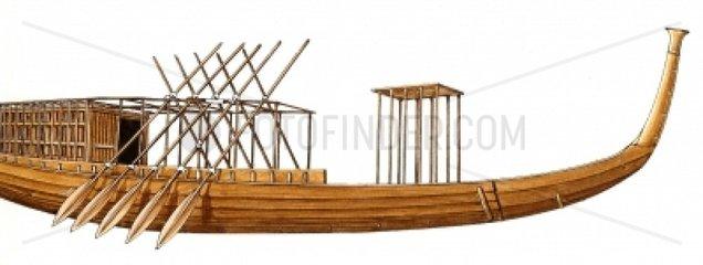 Serie Schiffe Cheops Barke Aegypten