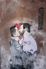 Wahlgewinner Liebespaar Salvini und Di Maio