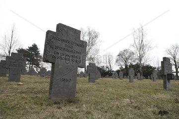 Friedhof fuer die Kriegsopfer des Zweiten Weltkrieges am Wiener Zentralfriedhof