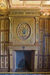 France  Loire valley  Blois  Castle  Fireplace