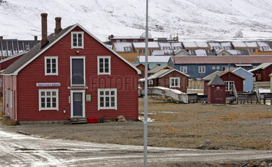 Ny Alesund auf Spitzbergen
