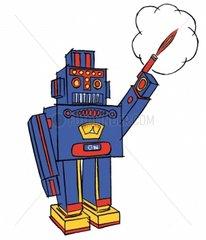 Blech Roboter