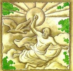 Zeus-Relief