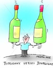 Bordeaux verses Bourgogne