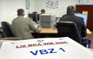 Lage- und Informationszentrum BKA WM 2006