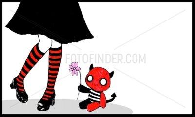 Kinderspielzeug Lolita Maedchenbeine Huendchen