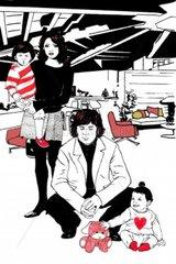 Familie Vater Mutter Kinder Familienportrait