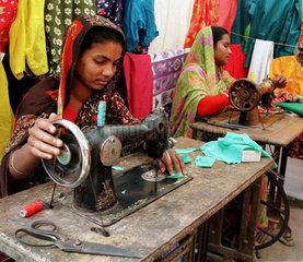 Grameen-Bank Hilfsprojekt Baroria