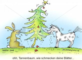 Weihnachtsbaumrecycling