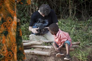 Journalist in Afrika