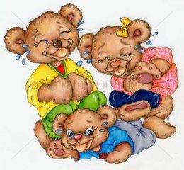 Gluecksbaerchen Serie Familie lachen