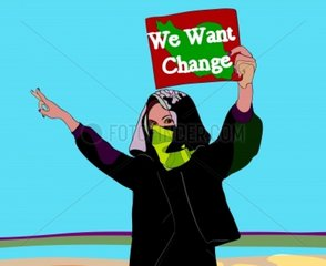 We want change