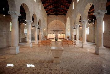 Brotvermehrungskirche in Israel