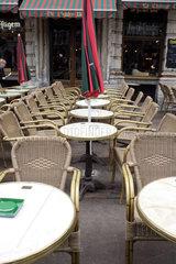 Strassencafe in Bruessel
