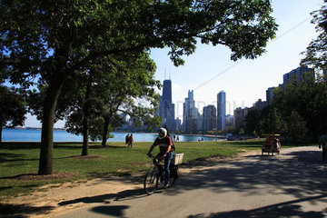 Stadansicht Chicago