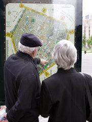 Stadtplan von Bruessel