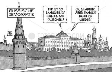 Russische Demokratie