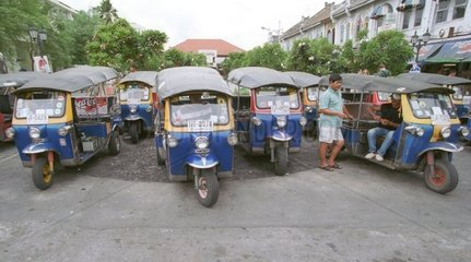 Verkehr in Bankok