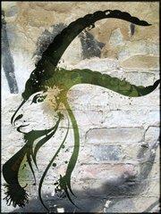 Sternzeichenserie Street Art Steinbock