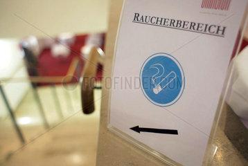 Raucherbereich