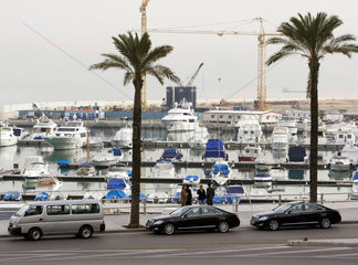 Yachthafen in Beirut