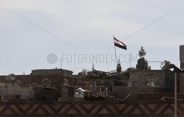 Strassenszene in Sanaa