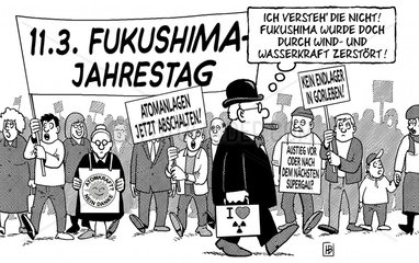 Fukushima-Jahrestag