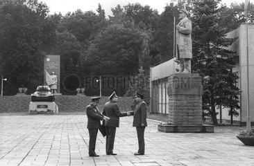 Sowjetische Truppen in Eberswalde