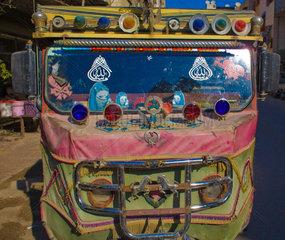 Kleintransporter in Damaskus