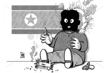 Raketenstart_Nordkorea