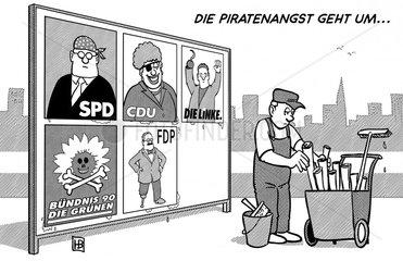 Piratenangst