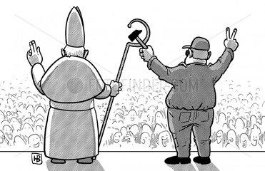 Papst_auf_Kuba